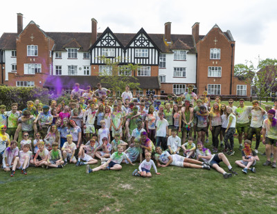 Blathwayt Charity Colour Run  (50)