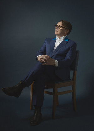 Chris Difford Programme Cover Without Cover