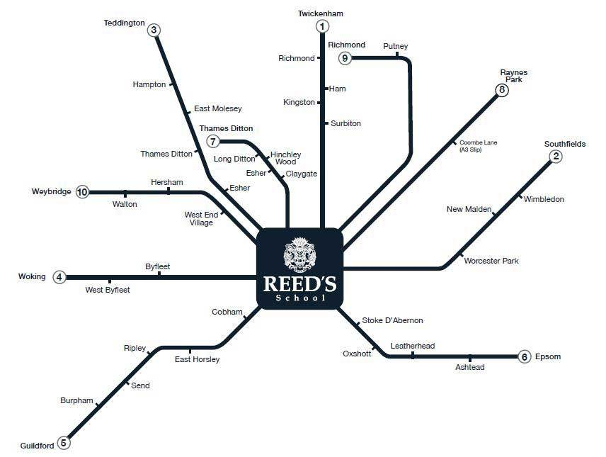 Bus Routes - Reed's School