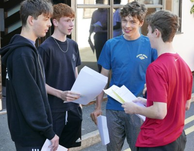 Aiden Kidney, Ollie Holkins, Jude Madden and Louis Viner at Reed