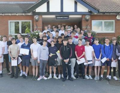 GCSE students at Reed