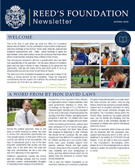 Foundation Newsletter Spring 2020 cover