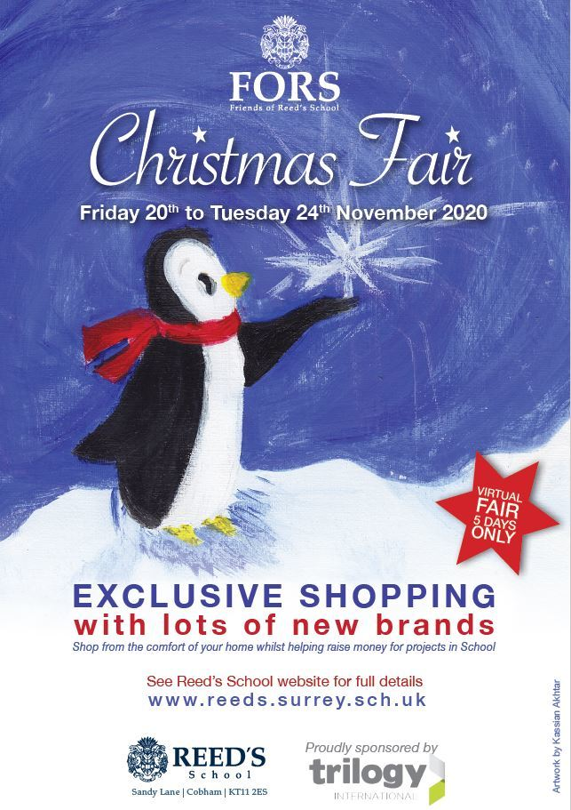 Christmas Fair flyer 2020