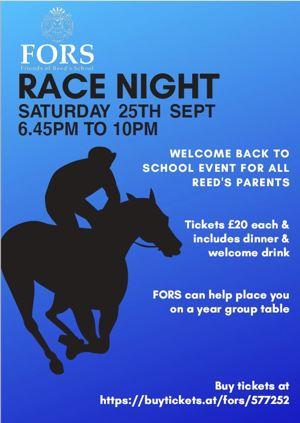 Racenight poster