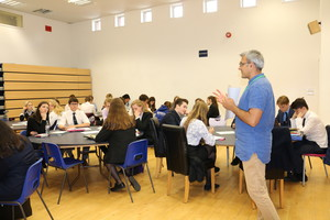 Sixth form workshop with poet daljit nagra