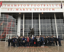 Fourth form visit to southampton