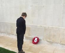 Trip to ww1 battlefields memorials 2