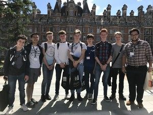 Maths trip to royal holloway