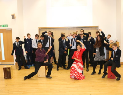 European day of languages flamenco dancing