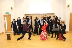 European day of languages flamenco dancing