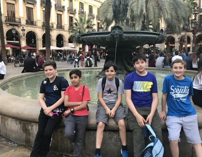 Mfl trip to barcelona