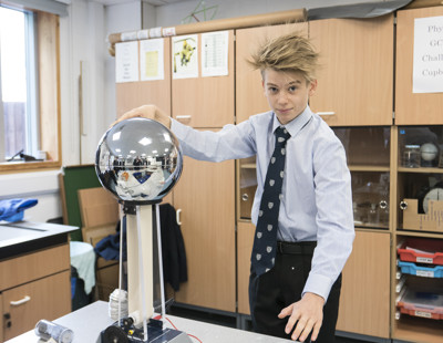 Physics static electricity