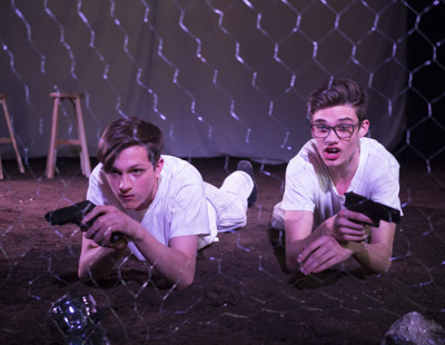 Gcse scripted performance zero for the young dudes by alastair mcdowell 2