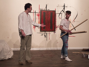 Sixth form scripted performance red by john logan