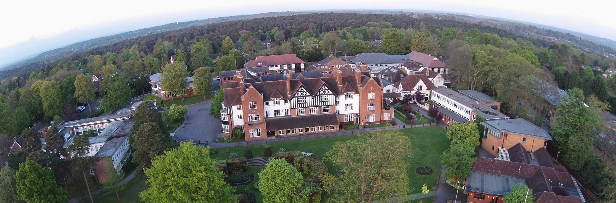 OR Home page header - aerial photo