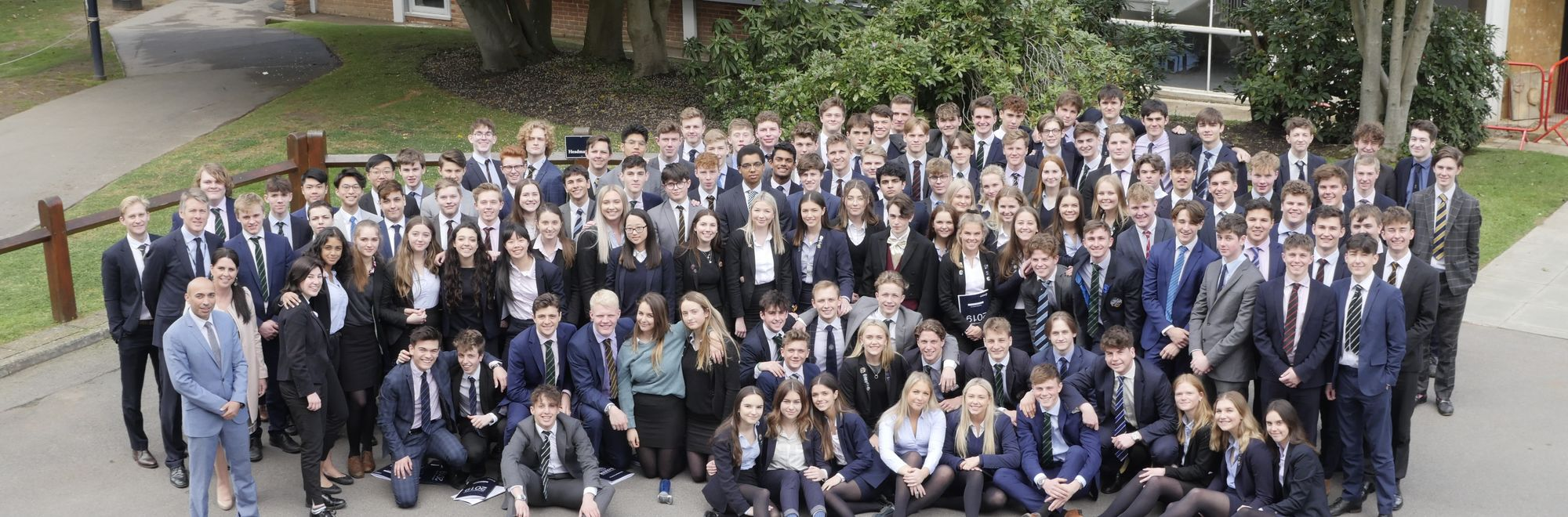 OR Home page header - Leavers' Day 2019