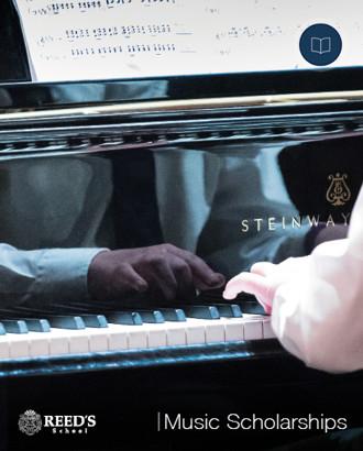 Music Scholarships Brochure